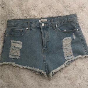 Forever 21 jean shorts 30